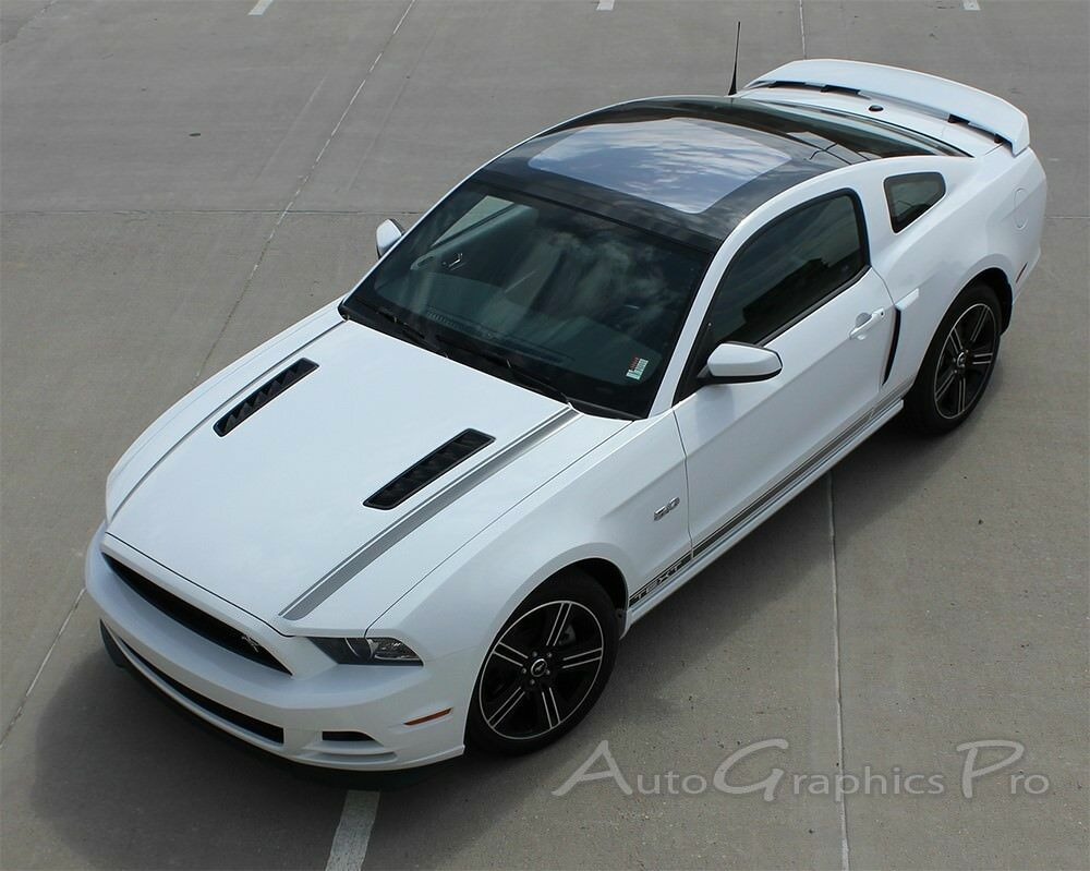 2013 2014 ford mustang gt v6 gt cs cali edition decals stripe graphics ee2786 ebay. Black Bedroom Furniture Sets. Home Design Ideas