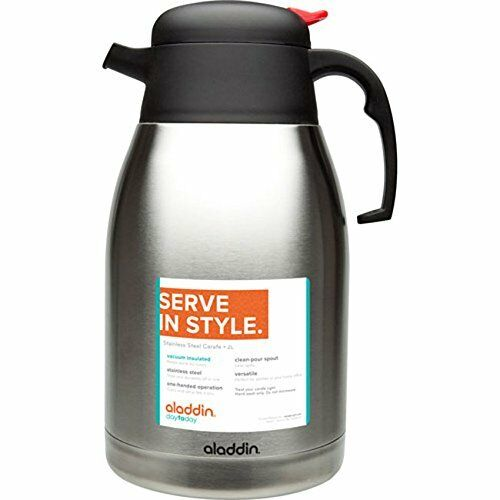 Aladdin Vacuum Insulated 2l 67 6oz Stainless Steel