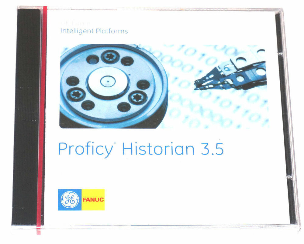 New Sealed Ge Fanuc Proficy Historian 3 5 Software Ebay