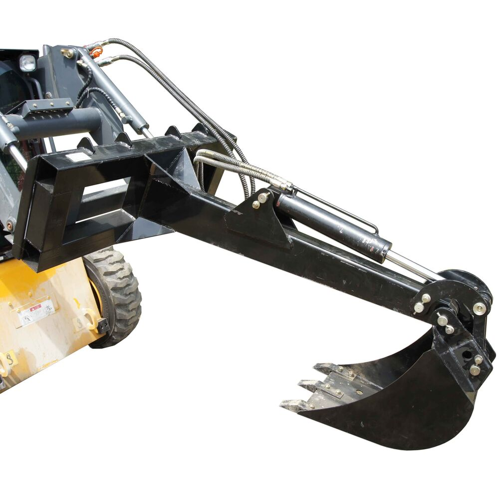 Skid Steer Backhoe W 14 Quot Bucket Excavator Attachment