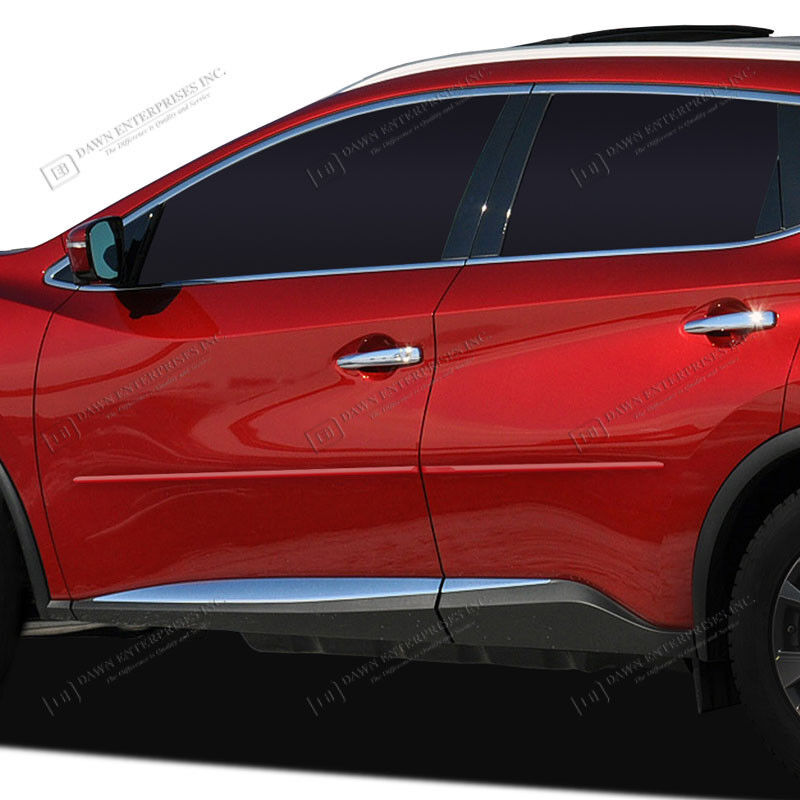 2017 Nissan Murano Exterior: For: NISSAN MURANO; PAINTED Body Side Moldings Mouldings