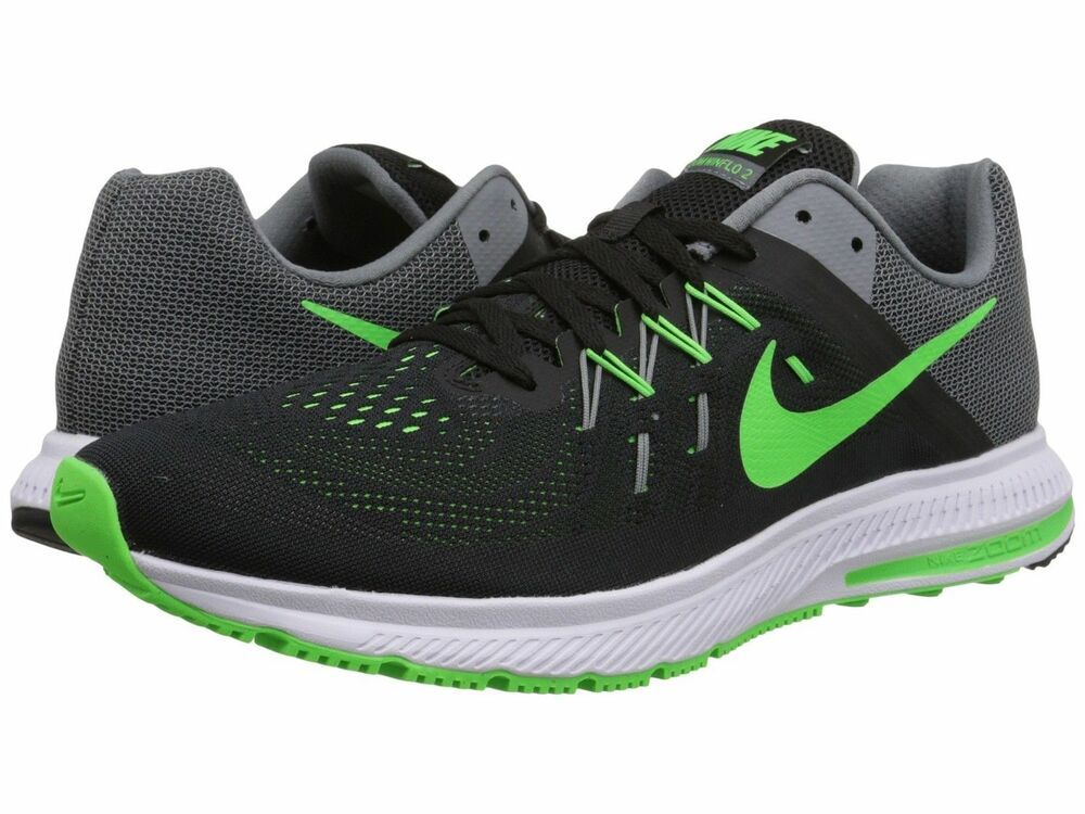 Details about NIB nolid Nike Nike Zoom Winflo 2 Running Shoes Blk Gry  807276-003 Men s Sz 10.5 62cf9e9bc8ce