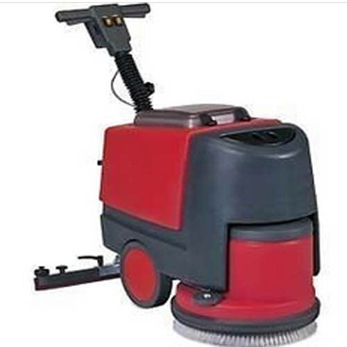 Floor Scrubber With Squeegee 135 Rpm 24 Volt 1000