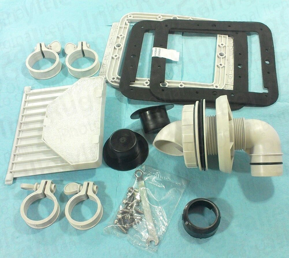 Sfs1000 Replacement Parts : Pro series swimming pool wall fitting kit gasket filter