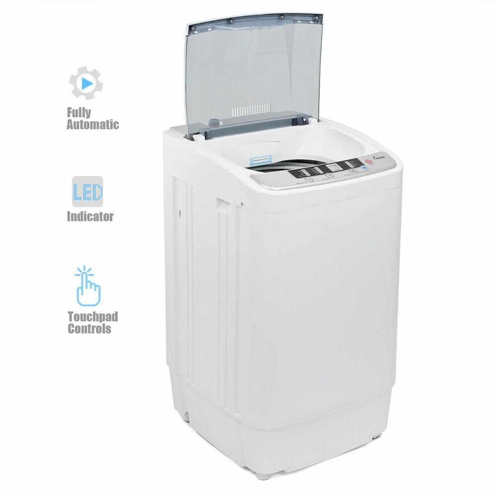 small washing machine the laundry compact fully automatic washing drying 10348