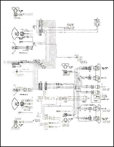 1978 malibu classic and monte carlo wiring diagram 78
