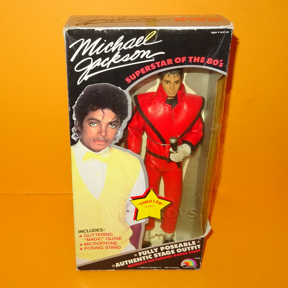 Rare Toys From The 80s : Vintage s ljn toys michael jackson quot thriller