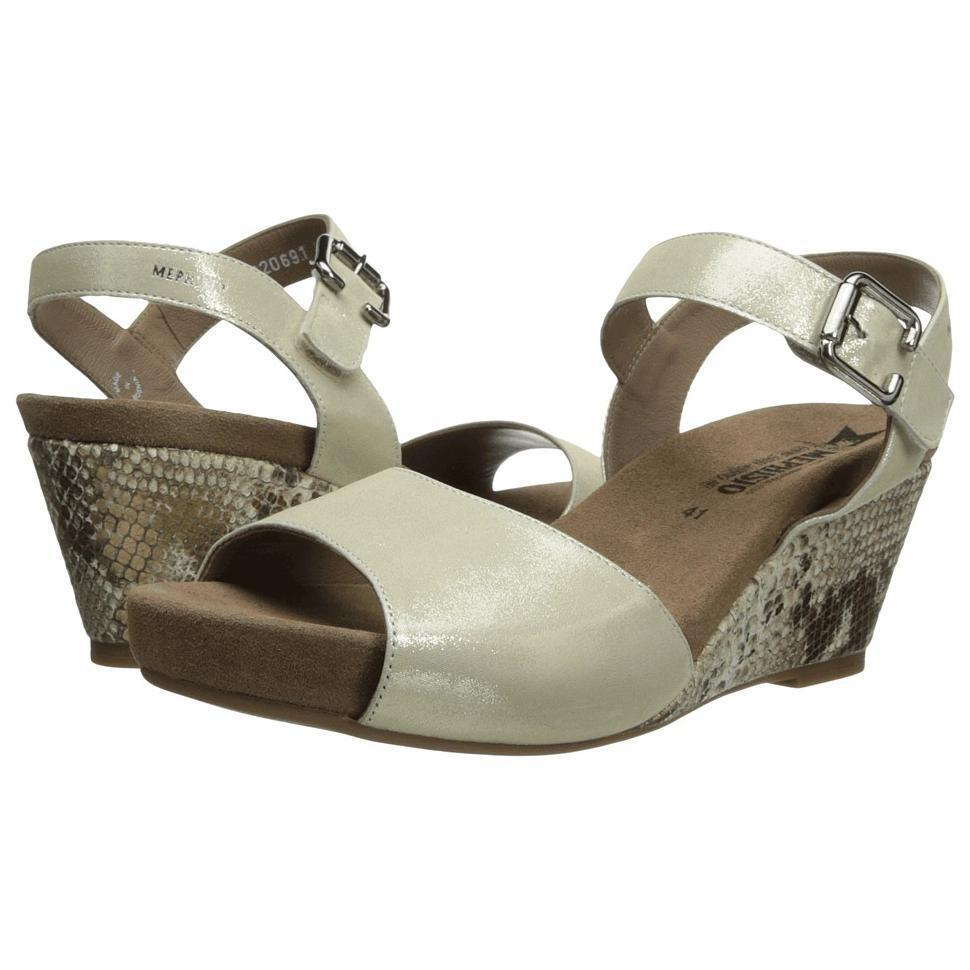 9c64fb9368 Details about Mephisto Beauty Gold/Lizard Boa Comfort Wedge Sandal Womens  Sizes 35-42 NEW!!!
