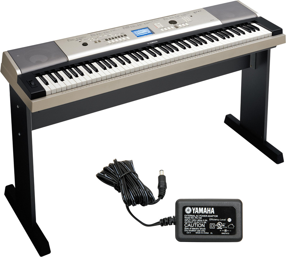 Yamaha ypg 535 88 key portable grand graded action usb for Www yamaha keyboards