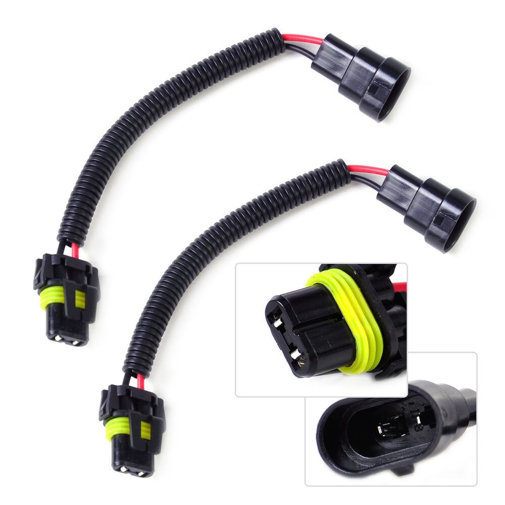 C7500 Wiring Headlight Plug Books Of Diagram New H4 Bulb Male Wire Harness Connector Socket 2pcs Fog Light Hb4 9006