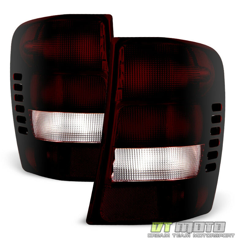 1999 2004 jeep grand cherokee red smoke rear tail lights. Black Bedroom Furniture Sets. Home Design Ideas