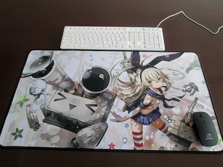Anime Kantai Collection Wide Large Mouse Pad Big Overlock