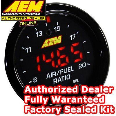 AEM 30-0300 X-Series Wideband Gauge AFR O2 UEGO Air Fuel Ratio 2 1/16