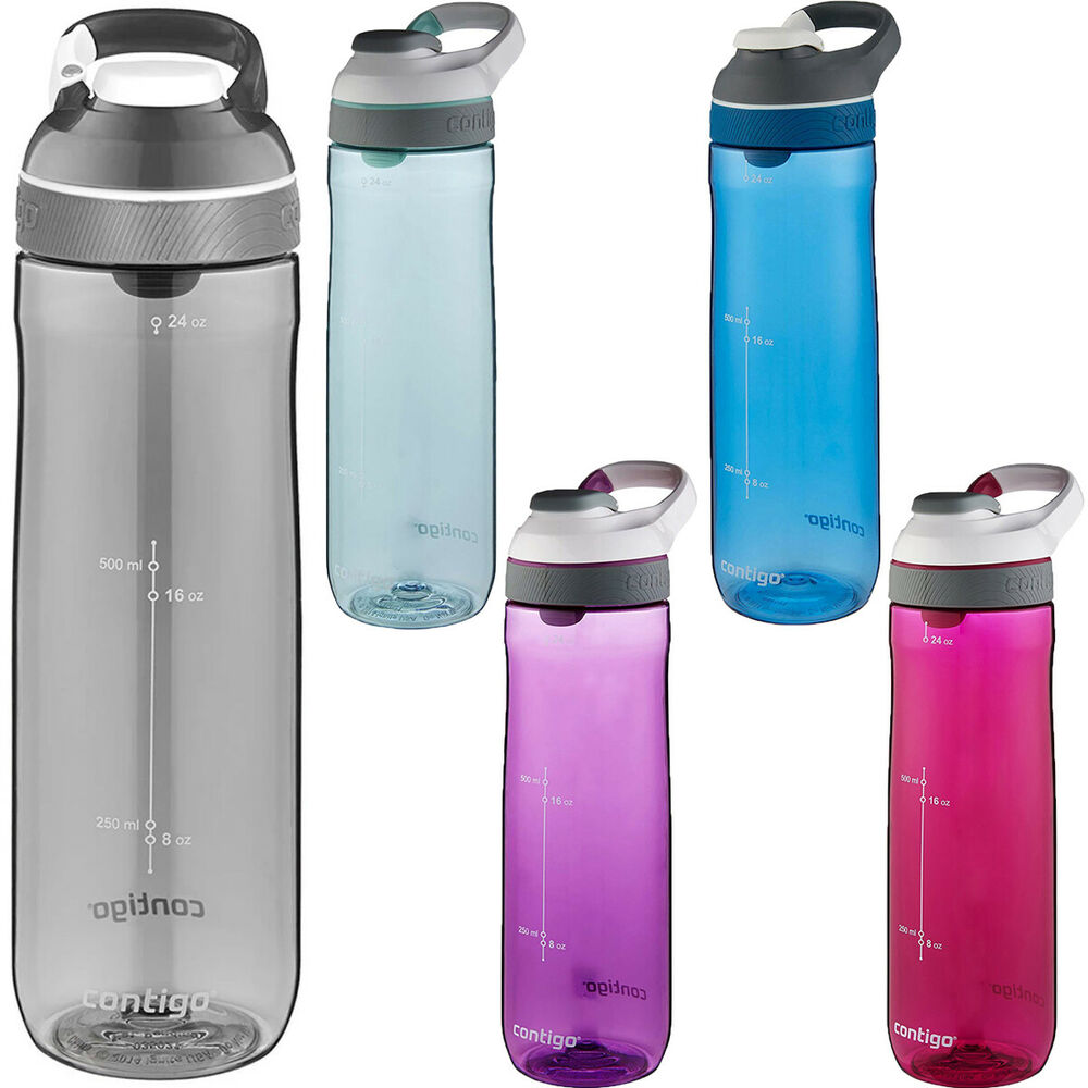 Sports Bottle With Storage Compartment: Contigo 24 Oz. Cortland Autoseal Water Bottle