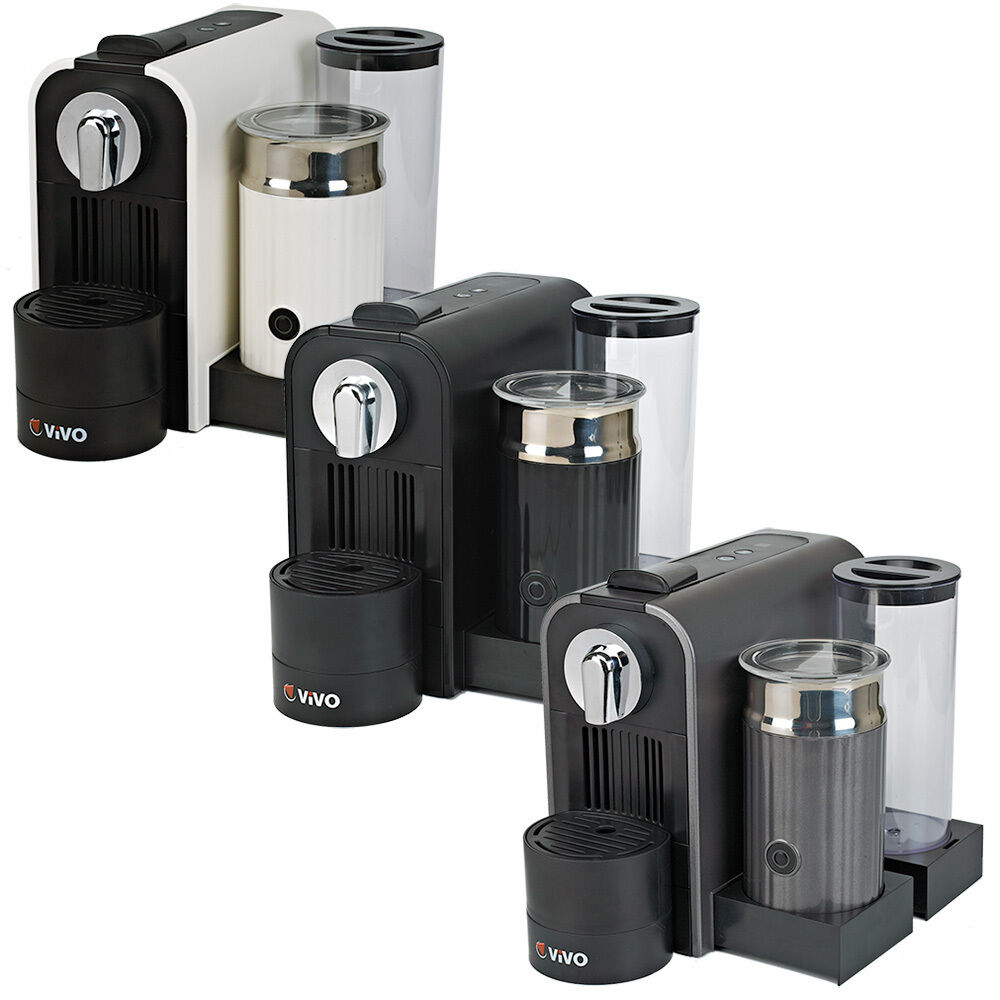 Vivo Coffee Machine And Milk Frother For Nespresso