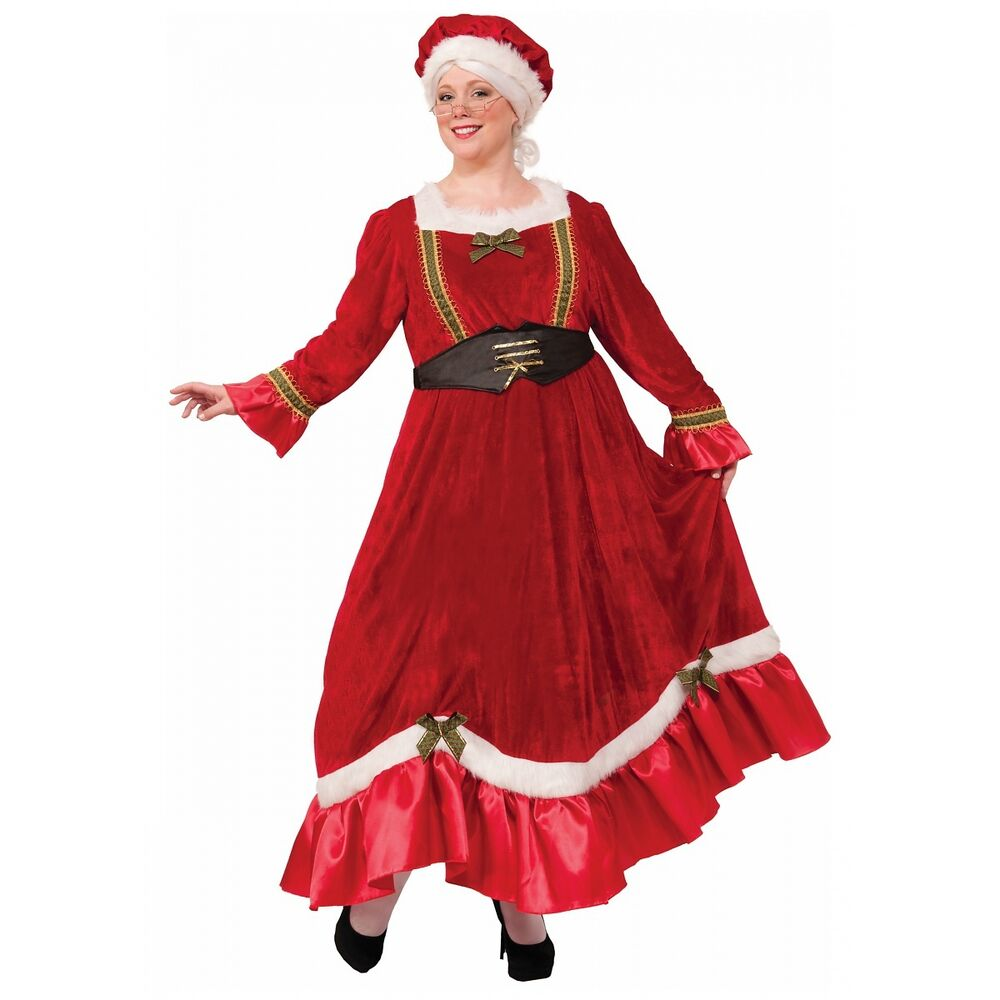 pictures of mrs claus mrs claus costume adult santa outfit christmas fancy dress 7535