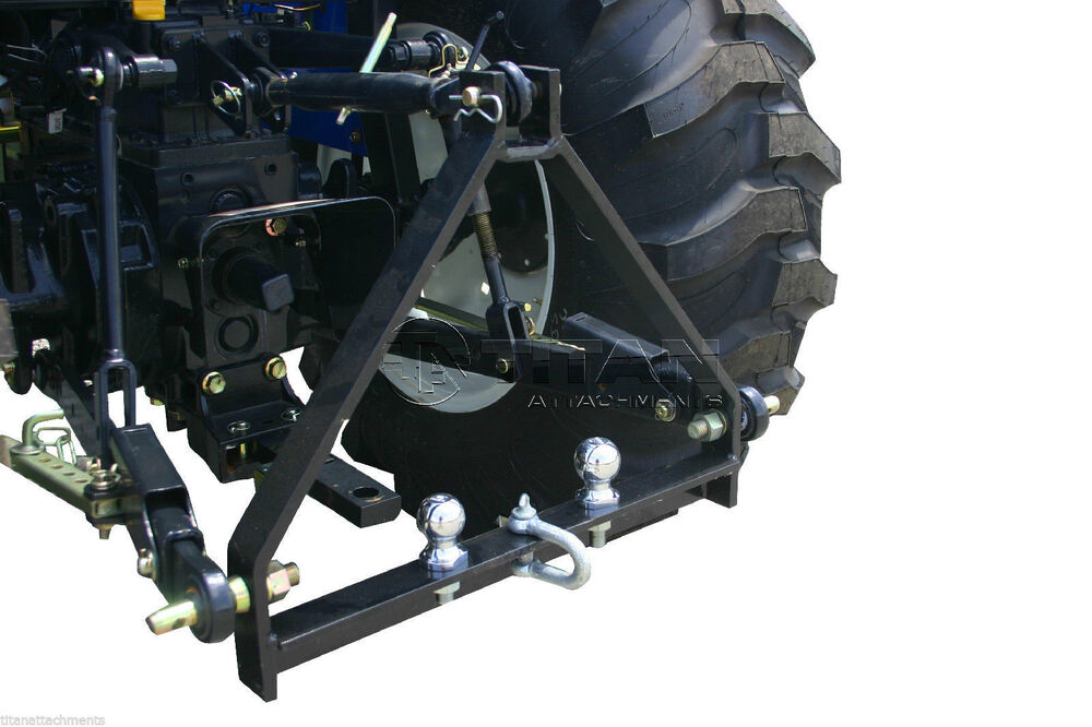 3 Point Hitch Handy : Point tractor drawbar hitch for kubota bx trailer