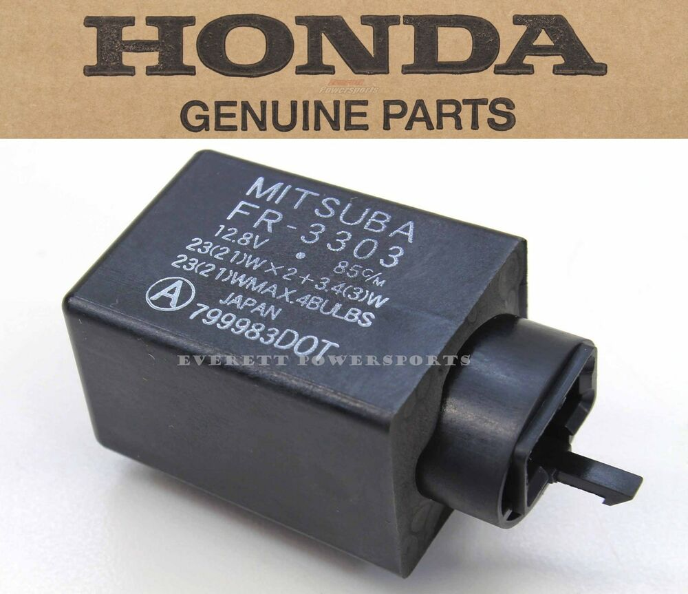 Honda Turn Signal Relay Many 250-1800 Models Blinker Flasher (See Notes!)  #R109 | eBay