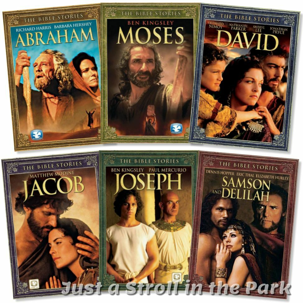 bible stories complete christian film collection 6 movies