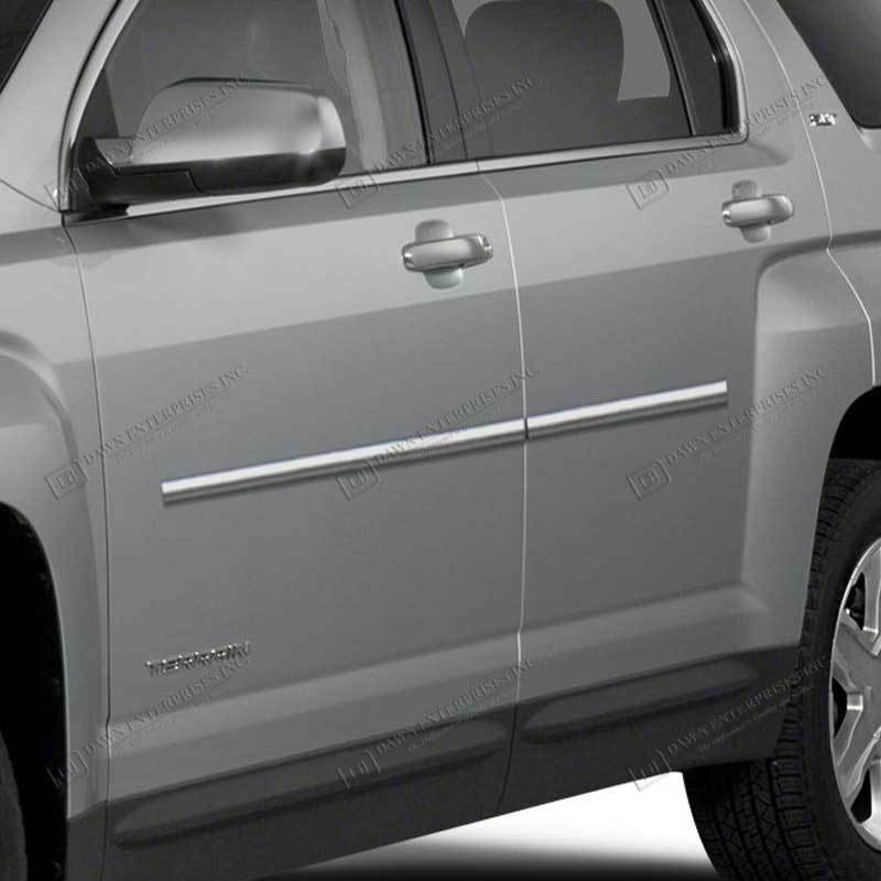 Gmc Canyon Extended Cab Chrome Body Side Molding 2015: For: GMC TERRAIN; BODY SIDE Moldings Mouldings Trim