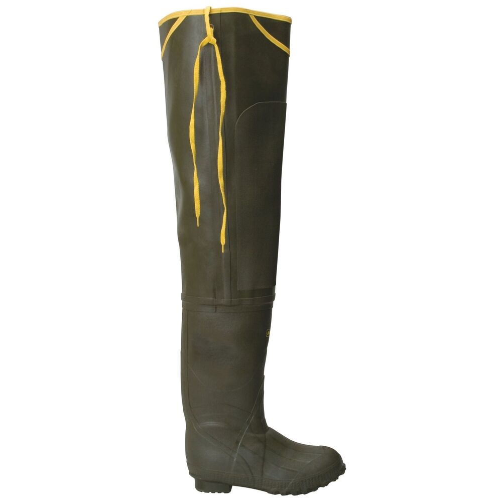 Lacrosse trapline hip 32 forest green 700066 fishing for Hip boots for fishing
