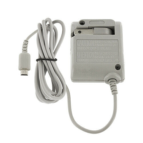 wall home travel charger ac power adapter for nintendo ds lite ndsl ebay. Black Bedroom Furniture Sets. Home Design Ideas