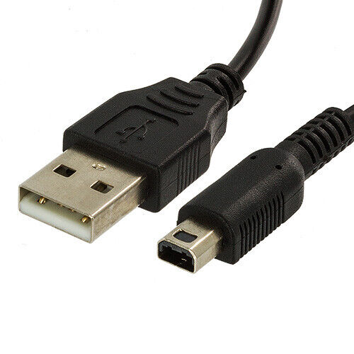 usb charger power cable cord plug for nintendo 3ds dsi dsi ll xl ebay. Black Bedroom Furniture Sets. Home Design Ideas