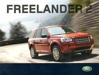 LAND ROVER FREELANDER 2 Car Sales Brochure 2008 #LRML 2470/07