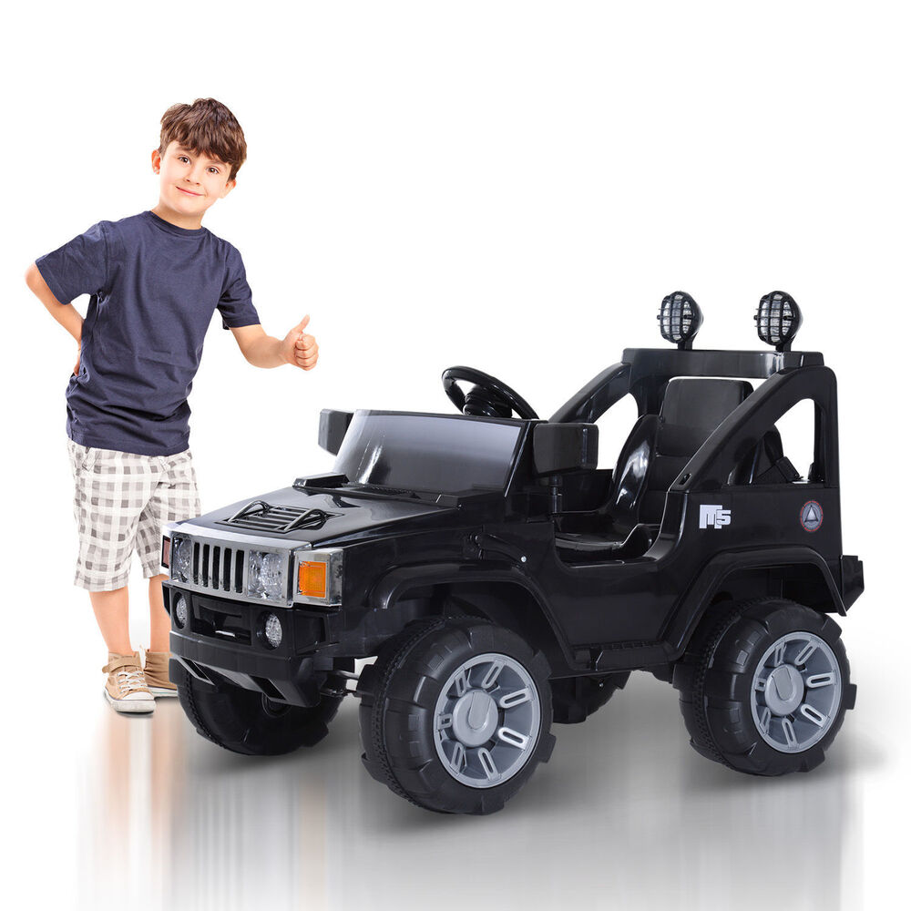 elektroauto kinderauto kinder fahrzeug mp3 anschlu jeep. Black Bedroom Furniture Sets. Home Design Ideas