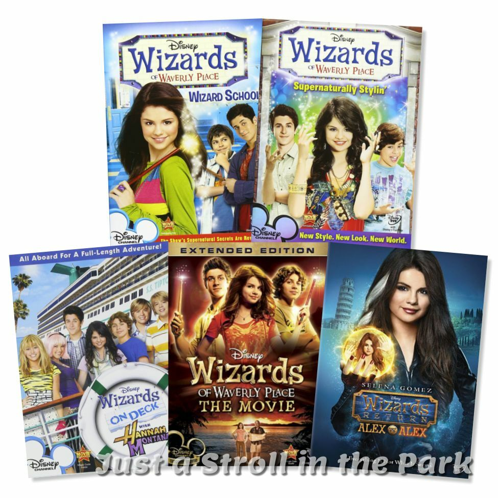 wizards of waverly place disney series complete