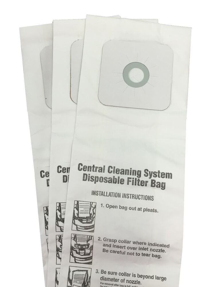 Central Vacuum Bags For Nutone 391 391 8 3918 44186 3