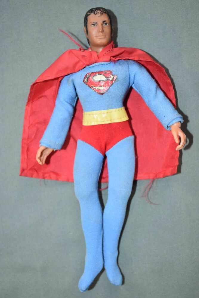"Vintage Mego SUPERMAN 8"" Tall Action Figure, 1970s DC ..."