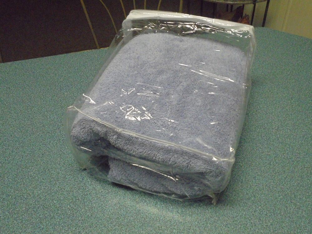 12 Clear Plastic Vinyl Sheets Storage Bags Zippered 9 X
