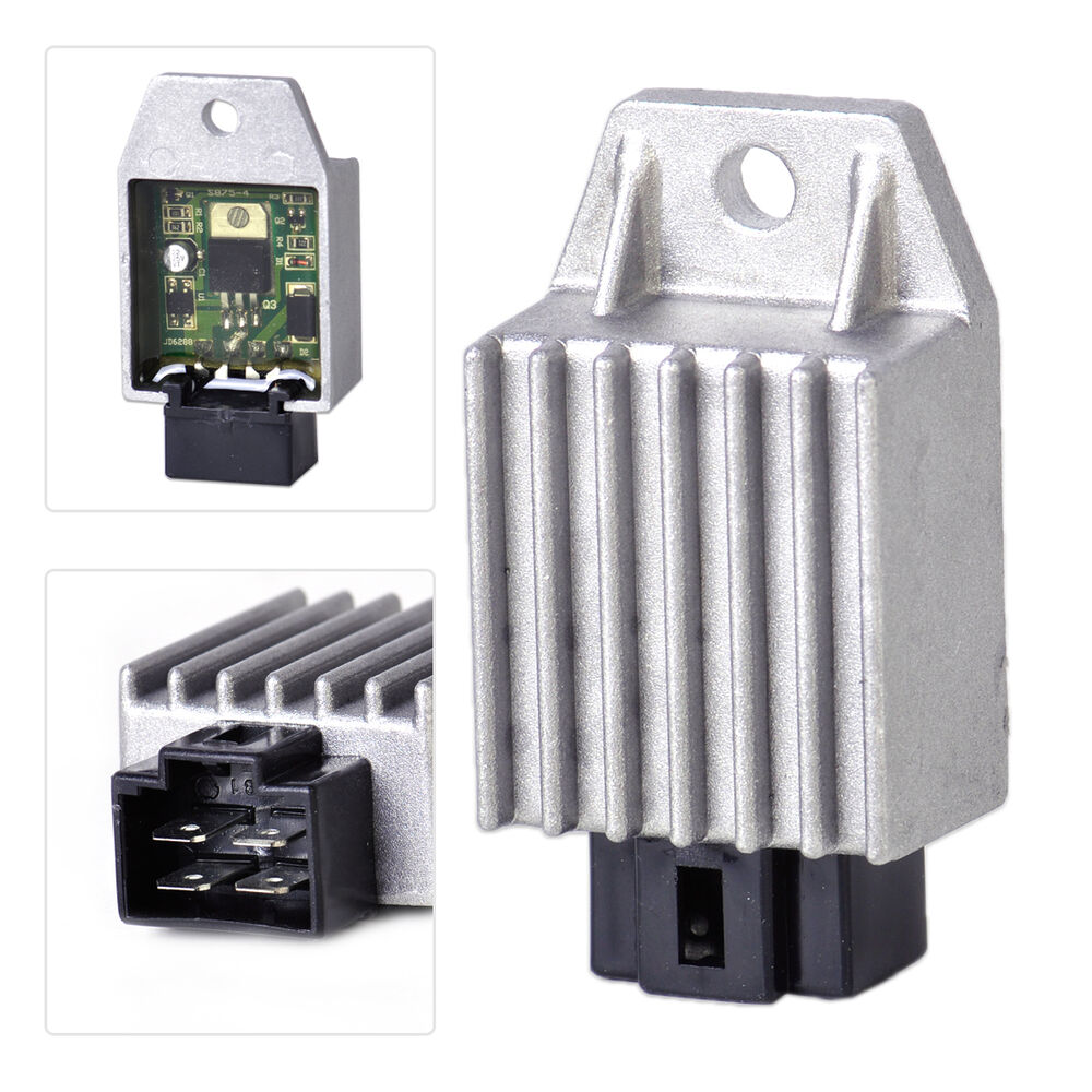 New 12V 4 Pin Voltage Regulator Rectifier fits GY6 50cc ...
