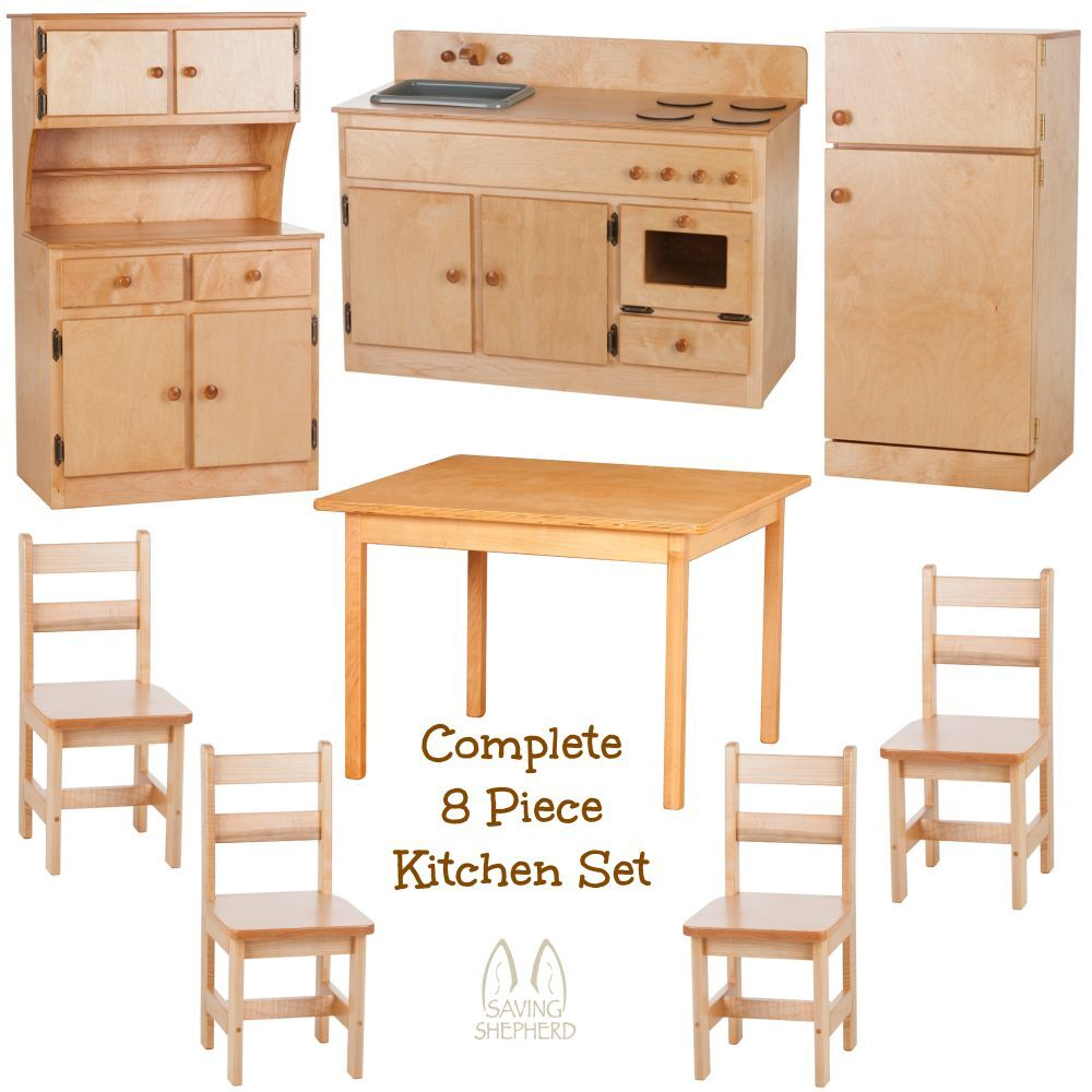 COMPLETE KITCHEN PLAY SET