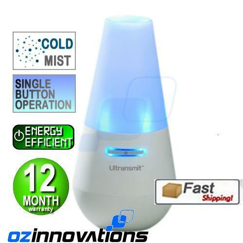Aromatherapy Aroma Diffuser Ultransmit SPA Humidifier w/ Blue led night lights