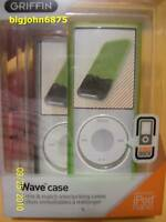 Griffin Wave Case iPod Nano 2 Pack 8279 NWAVBG 4th gen