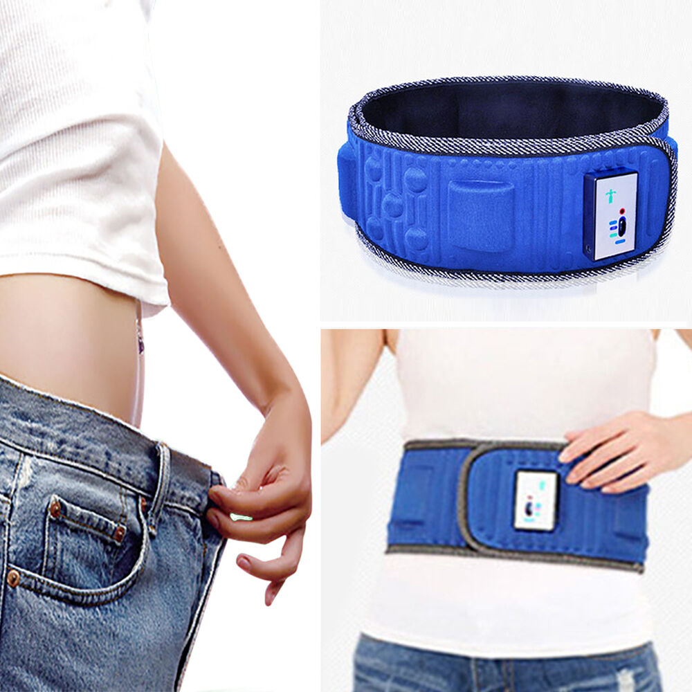 8ba6b4ddc7 Lose Belly Fat Fitness Belt  Stomach body shaper trimmer excercise ...