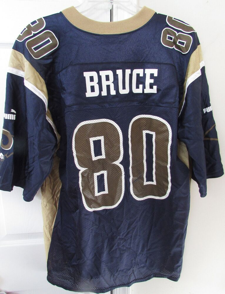 43618d3c65a NFL St. Louis Rams Isaac Bruce #80 Jersey Size Large by Puma   eBay