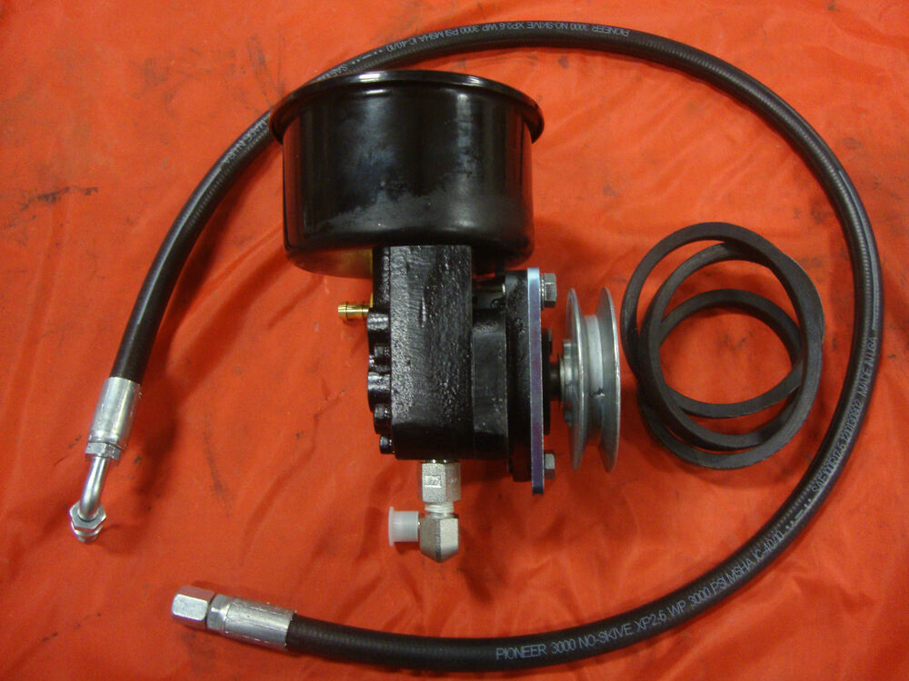 Ford 861 Hydraulic Pump : New  ford tractor power