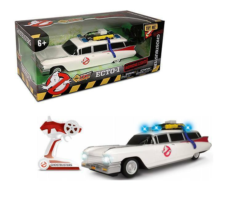 ghostbusters rc car auto modell 1 16 classic ecto 1 35 cm. Black Bedroom Furniture Sets. Home Design Ideas