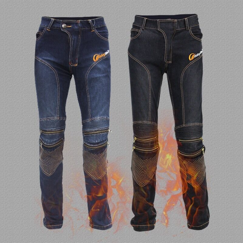 New Motorcycle Pants Motorbike Riding Trousers Breathable ...