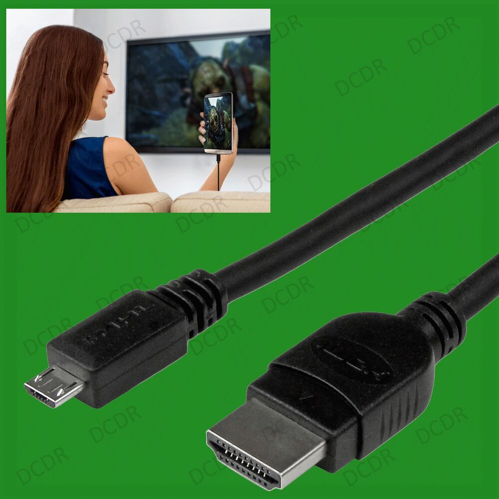 Micro Usb To Hdmi 1080p Wire Cable Tv Av Adapter For