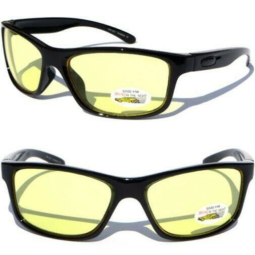 HD Night Driving Glasses Yellow Lens High Definition With ...