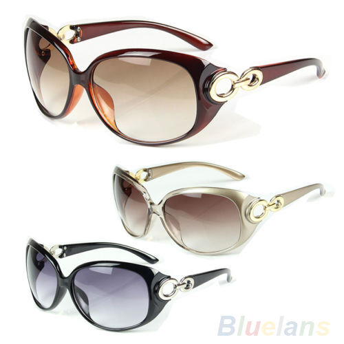 Womens Stylish Polarized Sunglasses Ladies Cool Hard Frame ...