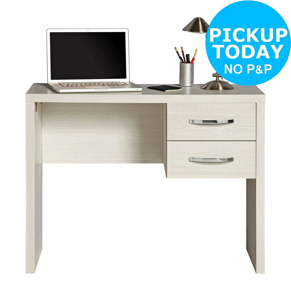 Jarvia office desk white from the official argos shop on ebay ebay Argos home office furniture uk