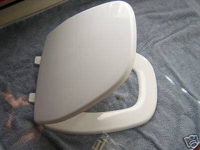 Eljer Emblem Square Front Toilet Seat White New Bemis Part