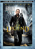 I Am Legend (DVD, 2-Disc Set, Special Edition) Brand New Sealed!!! Will Smith