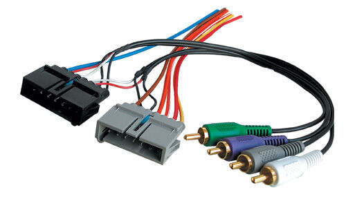 Infinity Factory Car Stereo Audio Amp Bypass Wiring Harness Kit Ebay