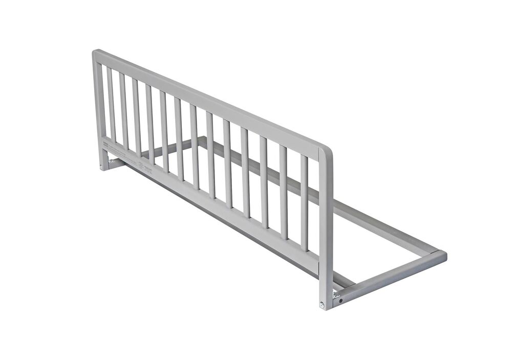 Safetots Wooden Bed Rail Grey Bedguard Unisex Child